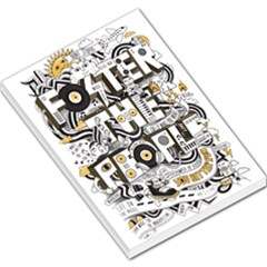 Foster The People Creative Typography Large Memo Pads