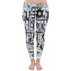 Foster The People Creative Typography Classic Winter Leggings