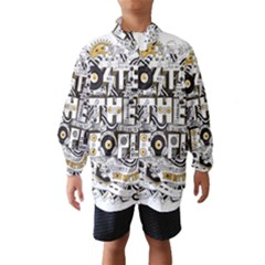 Foster The People Creative Typography Wind Breaker (kids)
