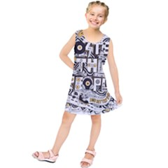 Foster The People Creative Typography Kids  Tunic Dress