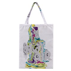 Hot Air Typography Classic Tote Bag