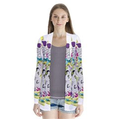 Hot Air Typography Cardigans
