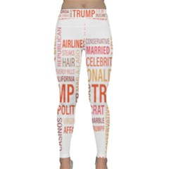 Donald J Trump Blog Candidate Classic Yoga Leggings