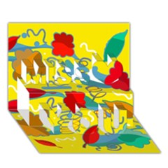 Weather Miss You 3d Greeting Card (7x5)