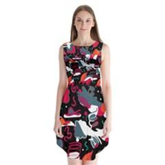 Fly away  Sleeveless Chiffon Dress