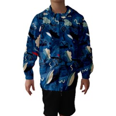 Ocean Hooded Wind Breaker (Kids)