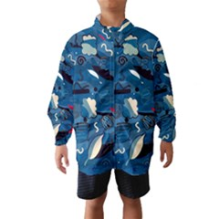 Ocean Wind Breaker (Kids)