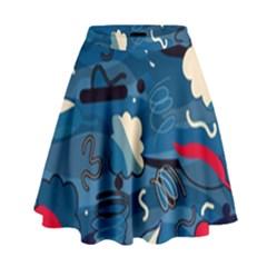 Ocean High Waist Skirt