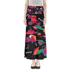 Colorful abstract art  Maxi Skirts