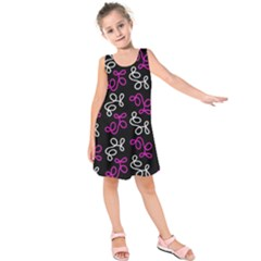 Elegance - Magenta  Kids  Sleeveless Dress