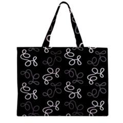 Elegance - gray Medium Tote Bag