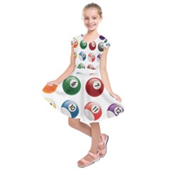Billiards Kids  Short Sleeve Dress