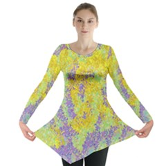 Backdrop Background Abstract Long Sleeve Tunic