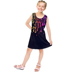 Color Rainbow Kids  Tunic Dress