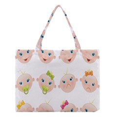Cute Baby Picture Medium Tote Bag