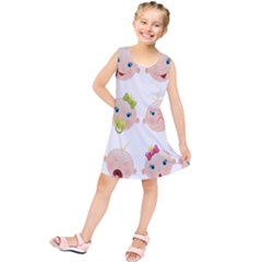 Cute Baby Picture Kids  Tunic Dress