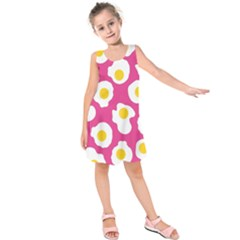Fried Egg Kids  Sleeveless Dress