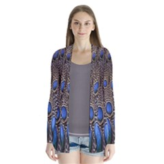 Feathers Peacock Light Cardigans