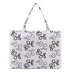 Gray Elegance  Medium Tote Bag