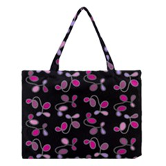 Magenta Garden Medium Tote Bag