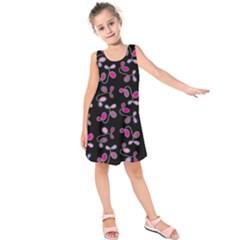 Magenta Garden Kids  Sleeveless Dress