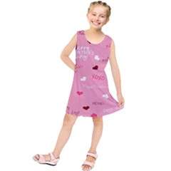Happy Valentines Day Kids  Tunic Dress