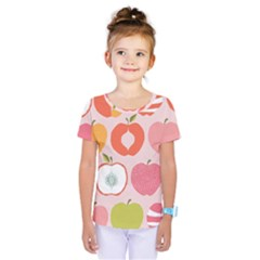 Pink Delicious Organic Canvas Kids  One Piece Tee