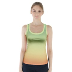 Smooth Gaussian Racer Back Sports Top