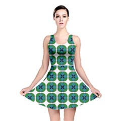 Geometric Patterns Reversible Skater Dress