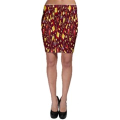 Wine Glass Drink Party Bodycon Skirt