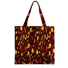 Wine Glass Drink Party Grocery Tote Bag