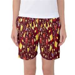Wine Glass Drink Party Women s Basketball Shorts