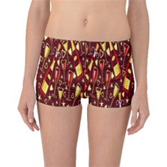 Wine Glass Drink Party Boyleg Bikini Bottoms