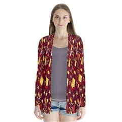 Wine Glass Drink Party Cardigans
