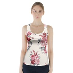 Rose Beauty Flora Racer Back Sports Top