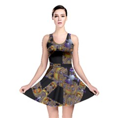 Machine Gear Mechanical Technology Reversible Skater Dress
