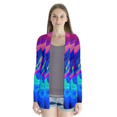 The Perfect Wave Pink Blue Red Cyan Cardigans