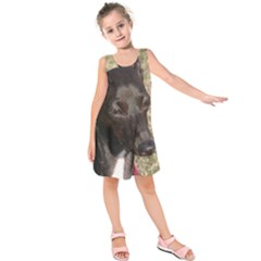 Italian Greyhound Kids  Sleeveless Dress