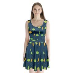 Science Geek Split Back Mini Dress