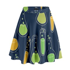 Science Geek High Waist Skirt