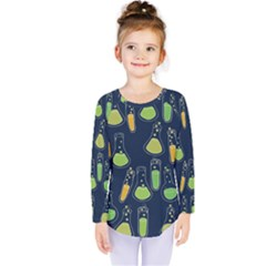 Science Geek Kids  Long Sleeve Tee