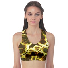 Abstract Pattern Sports Bra