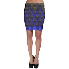 Basket Weave Bodycon Skirt