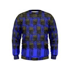 Basket Weave Kids  Sweatshirt