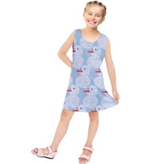Christmas Wrapping Papers Kids  Tunic Dress