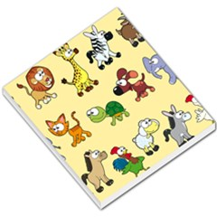 Group Of Animals Graphic Small Memo Pads