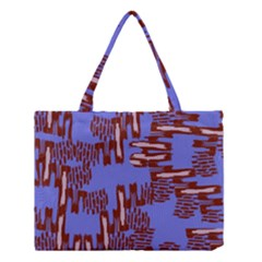 Ikat Sticks Medium Tote Bag