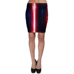 Lights Pattern Bodycon Skirt