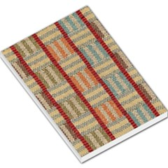 Fabric Pattern Large Memo Pads