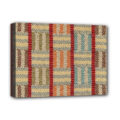 Fabric Pattern Deluxe Canvas 16  X 12